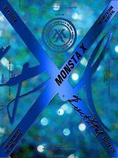 MONSTA X 1ST ALBUM BEAUTIFUL BESIDE Ver. CD + PHOTOCARD + 2 FOLDED POSTER NEW