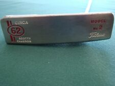 "Nice Titleist Scotty Cameron LEFT HANDED Circa 62 Model No. 2 35"" Putter"
