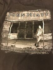 John Hiatt Dirty Jeans And Mudslide Hymns Tour 2011 T-shirt Size M