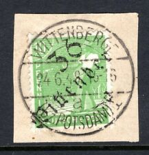1948 Germany HOP, BEZIRK 36 WITTENBERGE, First Day Cancel 24/6/1948, on Piece #2