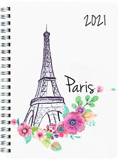 Diary 2019 Milford Cities A5 Day to Page Wiro Paris 441477 inc Post