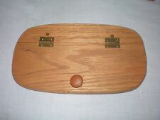 Custom Wooden Hinged Lid Fits Longaberger Dresden Tour I Basket