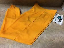 NEW VINTAGE ONE RESOURCE STIR UPS PANTS UP'S BRIGHT YELLOW LARGE KOREA RARE HTF