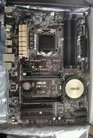 ASUS Z97-K LGA1150 Intel Z97 ATX Motherboard SATA3 USB3 4*DDR3 CF, W10 Pro