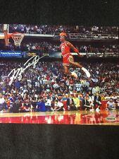 New listing michael jordan autographed signed 8x10 photo W/COA