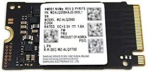 Samsung PM991 256Gb PCIe NVMe SSD Gen3x4 M.2 MZALQ256HAJD Solid State Drive 2242