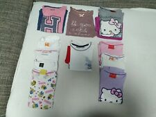 Mädchen Kleidungspaket Pyjamas Lang-/Kurzärmlige Oberteile Kleidung 122 128