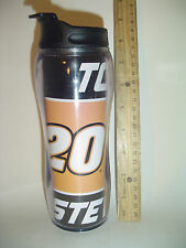 AS IS #N39 TONY STEWART #20 HOME DEPOT TRAVEL MUG AUTO CUP Wrap Action sports