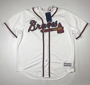 Atlanta Braves Majestic Cool Base Jersey Size XL