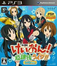 PS3 K-on houkago live hd ver. Keion Japan PlayStation 3