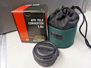 Sigma APO Tele Converter 1.4x EX - Minolta Sony A Mount