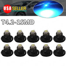 10x  Ice Blue T4/T4.2 Neo Wedge LED Cluster Instrument Dash Interior lights Bulb