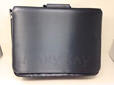 Mary Kay 2000 Large Consultant Sample Organizer Carrying Case Bag Black
