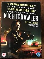 Nightcrawler DVD 2013 Stalker Paparazzi Thriller Film Movie with Slipcover