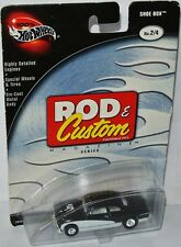 Rod & Custom - SHOE BOX - black / white - 1:64 Hot Wheels