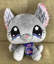 "Littlest Pet Shop Chinchilla Plush Stuffed Animal 8"" LPS Hasbro"