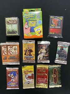 Assorted TCG & CCG Item Lot - 7th Sea, Sonic X, Middle Earth, L5R, and more
