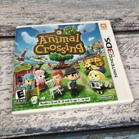 Animal Crossing: New Leaf (Nintendo 3DS, 2013) Complete
