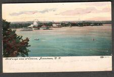 1912 pc Bird's eye view of Coloron Jamestown/Tonowanda to Auto Tire Co Toronto