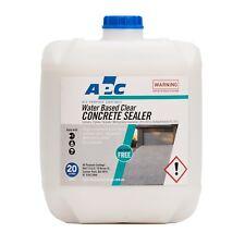 Concrete Sealer Water Based 20L