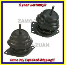87-90 fits Acura Legend 2.7 Front & Rear Motor Mount Set 2PCS - Same Day Ship