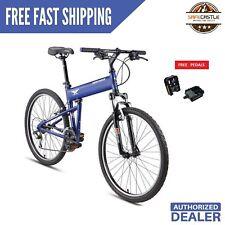 "New 2019 - Montague Paratrooper Express 18"" Mountain Folding Bike, w/ Free Pedal"