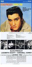 "Elvis Presley ""Loving you"" Von 1957! 11 Songs plus neun Bonustracks! Neue CD"