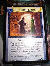 HARRY POTTER TCG GAME CARD CHAMBER OF SECRETS SHERBET LEMON 83/140 UNCO MINT EN