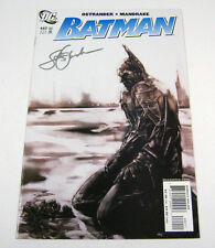 Batman #662 Signed by John Ostrander!Grotesk Part 4 1st PRINT NM+ DC COMICS 2007