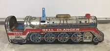 VINTAGE 1969 SILVER MOUNTAIN TIN TOY TRAIN BATTERY OPERATED 3850