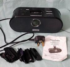 Reloj Despertador mavizen Dual Radio Con Dock Para Ipod