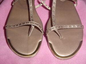 "Bronze Low Gladiator Style Sandal ""Faybriza"" by Anne Klein 11M   NEW~FREE SHIP"