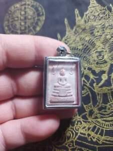 Thai buddha amulet phra kummak lp rolselingdom wat tasong pendant .