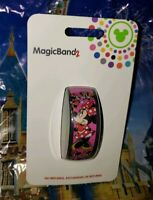 Disney MINNIE MOUSE BOW Ultimate All Over Pink Magic Band 2.0 Magicband Parks