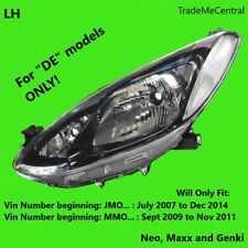Mazda 2 DE Genki Maxx Neo Head Light 07 08 09 2010 2011 2012 2013 2014 Left Side