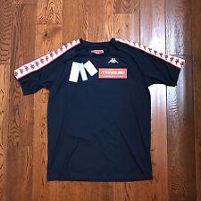 New Men's Gosha Rubchinskiy x Kappa T-Shirt Tee Soccer Jersey supreme Size M