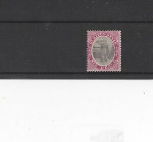 ST KITTS AND NEVIS , 1916, SG19ab TY 1 6d GREY-BLK & BRIGHT PURPLE, MH   CV £14+