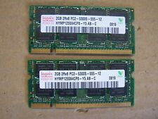 4GB (2x2GB) PC2-5300s DDR2-667MHz DELL STUDIO 1735  2Rx8 Hynix HYMP125S64CP8-Y5