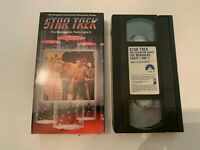 1966 Star Trek  Original TV Series The Menagerie Parts 1 and 2 VHS Video Tape
