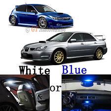 For 2006 - 2013 Subaru Impreza WRX STI 6-Light LED Full Interior Lights Package