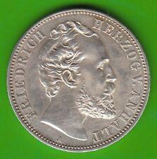 Anhalt 2 Mark 1876 toll erhalten besser als vz nswleipzig