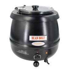 New Hakka 11 Qt Commercial Soup Kettel Countertop Electric 400w Food Warmer