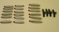 Vintage Lot  x 18 Tip Top Goody Aluminum Perm Permanent Rods 12 Short  6 Long