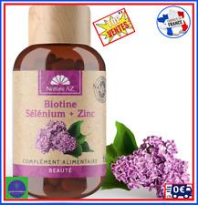 Complement Alimentaire Biotine Selenium Zinc Belle Peau Ongle Cheveux Beaute Top