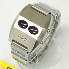 "STORM VINTAGE DIGITAL LED WATCH  ""DIGIROM"" BLACK"