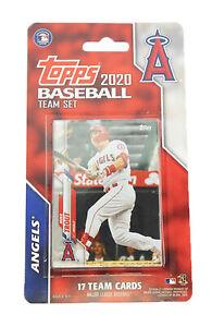 2020 Topps Baseball Los Angeles Angels 17-Card Team Set