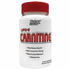 Nutrex Lipo 6 CARNITINE 60 Liquid Capsules Weight Loss Reduce Body Fat