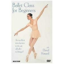 Ballet Class for Beginners 0032031113398 With David Howard DVD Region 1