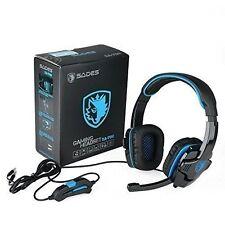 SADES Version Surround Sound Stereo Gaming Headsets Kopfhörer mit Bügel NEU