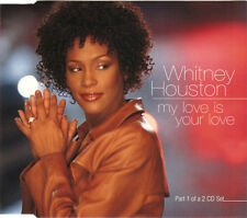 WHITNEY HOUSTON MY LOVE IS YOUR LOVE 3 TRACK CD SINGLE FREE P&P